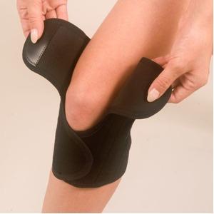 膝サポーター ペガサス【ブラックL】 家庭用永久磁気治療器サポーター 辛いひざを楽〜に♪!