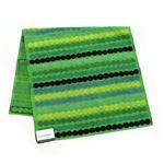 marimekko(マリメッコ) RASYMATTO MINI TOWEL ラシィマット オーガニックコットン バスタオル 50cm×100cm グリーン/マルチ 63906 660 Dark/Green