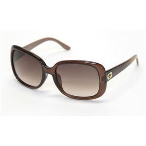 Gucci(グッチ) サングラス GG3593 F S W7L D8 ブラウン ブラウングラデーション アジアンフィットモデル