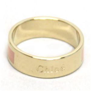 Chloe(クロエ) アクセサリー ロゴ リング PEACH PINK (実寸約11号) 2R0442AY4/31E #52