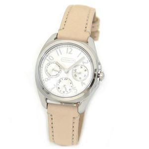 Coach(コーチ) 大人カジュアルで上品なマルチカレンダー仕様のキレカワ・レディス腕時計 14501906