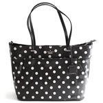 KATE SPADE(ケイトスペード) Cedar Street Dot Francis Baby Bag オムツ替えマット付 ドット柄 マザーズバッグ ベビーバッグ ≪2014AW≫ PXRU5125 96 Black/Deco Beige