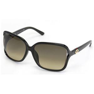 Gucci(グッチ) サングラス GG3658 F S D28 ED ブラック ブラウングラデーション アジアンフィットモデル