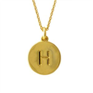 Kate Spade(ケイトスペード) WBRU7650-711 Gold one in a million イニシャル 「H」 ペンダント ネックレス