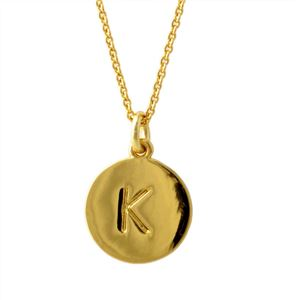 Kate Spade(ケイトスペード) WBRU7653-711 Gold one in a million イニシャル 「K」 ペンダント ネックレス
