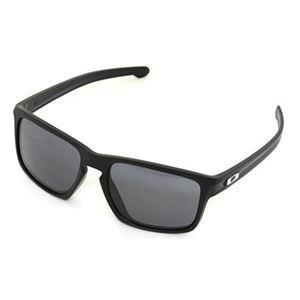 OAKLEY (オークリー) サングラス OO9269-01/SLIVER マットブラック Grey アジアンフィット