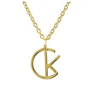 Calvin Klein (カルバンクライン) KJ5RBP210100 CKロゴ ネックレス ペンダント LEAGUE