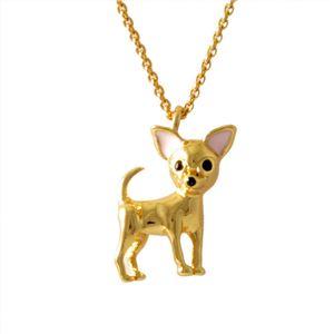 kate Spade (ケイトスペード) エングレービング Multi チワワ モチーフ ネックレス ペンダント Chihuahua Mini Pendant