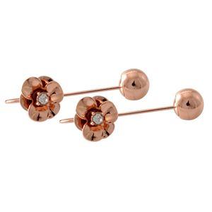 kate Spade (ケイトスペード) WBRUE454-717 Rose Gold フラワーモチーフ ハンガー ピアス Shine On Flower Hanger Earrings
