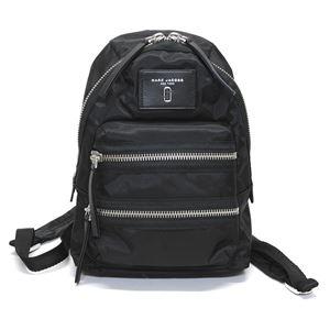 MARC JACOBS (マークジェイコブス) M0012702-001 Black ダブルJロゴ ナイロン ミニ バックパック リュックサック Nylon Biker Mini Backpack