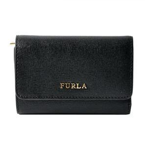 FURLA (フルラ) 872817 ONYX PR76 B30 バビロン 三つ折り 財布 BABYLON S TRIFOLD