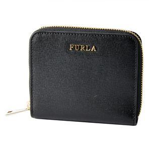 FURLA (フルラ) 907856 ONYX PR84 B30 バビロン ラウンドファスナー ミニ財布 BABYLON S ZIP AROUND