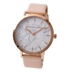 CHRISTIAN PAUL (クリスチャンポール) 5-Mar (MR-07) Marble Collection (マーブルコレクション) 43mm Bondi ユニセックス 腕時計