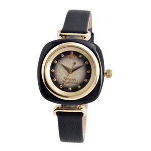 Vivienne Westwood (ヴィヴィアンウエストウッド) VV141BKBK BECKTON ベックトン レディース 腕時計