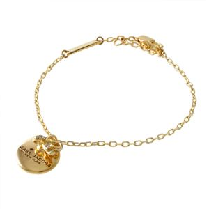 MARC JACOBS(マークジェイコブス ) M0013248-710 Gold コイン リボン ブレスレット MJ Coin Bow Bracelet