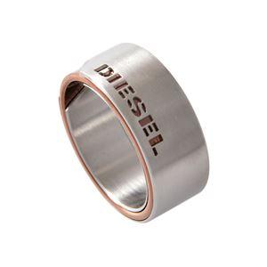 DIESEL(ディーゼル) DX1080040/10 カッティングロゴ メンズ リング 指輪 10号 (日本サイズ20号相当)