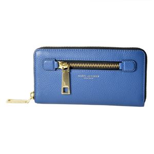 MARC JACOBS(マークジェイコブス ) M0008449-476 Vintage Blue ゴッサム ラウンドファスナー長財布 Gotham Standard Continental Wallet