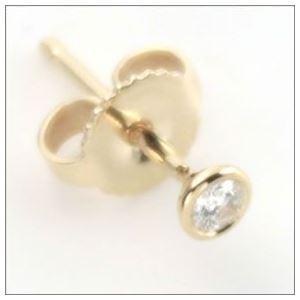 TIFFANY&CO(ティファニー) ダイヤモンド バイ ザ ヤード ピアス 0.10ct 18Y 12818653