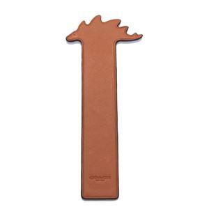 COACH(コーチ) 23699 Gifting Orange (MNR) ステギー レザー ブックマーク 本用 しおり STEGGY BOOKMARK
