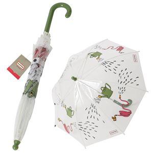 HUNTER(ハンター) JAU6010UPN-GAR ガーデンプリント アンブレラ 子供用 キッズ用 アンブレラ ビニール傘 長傘 Kids Printed Bubble Umbrella