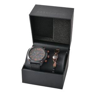 DIESEL(ディーゼル) DZ4462 オーバーフロー メンズ 腕時計/ブレスレット セット