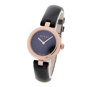 GUCCI (グッチ) YA141501 ディアマンティッシマ レディース 腕時計 文字盤カラー:ブラック