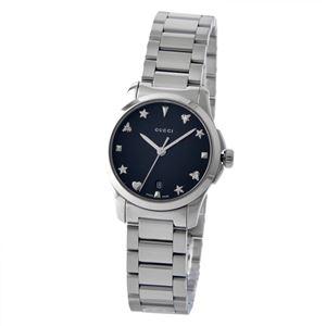 GUCCI (グッチ) YA126573 Gタイムレス レディース 腕時計 文字盤カラー:ブラック