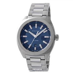 GUCCI (グッチ) YA142303 GG2570 メンズ 腕時計 文字盤カラー:ネイビー