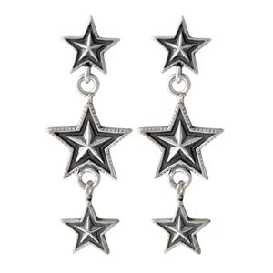 CODY SANDERSON(コディサンダーソン)C4-01-002 スリースター ピアス 3 Star Dangling EarRing