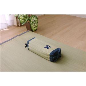 枕 まくら い草枕 消臭 ピロー 国産 『おとこの枕 角枕』 約30×15cm 中材:パイプ