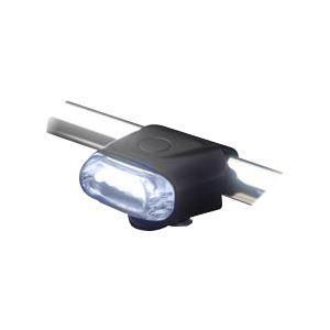 国内メーカー高輝度LED使用 5LEDシリコンサイクルライト(ヘッド) FJK-267F-5 WH / ホワイト