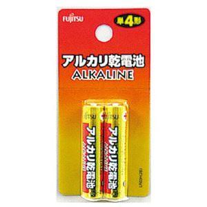富士通アルカリ乾電池単4(2P)LR03H(2B) 【10個セット】 36-243