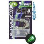 LEDデコレーションライト(緑) 【12個セット】 29-369