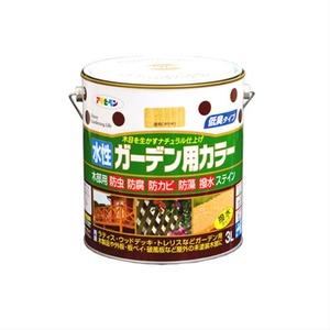 水性ガーデン用カラー 透明(クリヤ) 3L