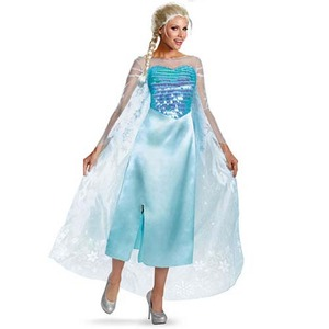 ディズニー DISNEY アナと雪の女王エルサコスチューム 大人用M