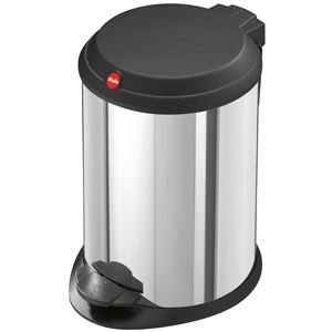 Hailo(ハイロ) ペダルビン ティーワン4L ステンレス(ゴミ箱・ダストBOX) 60014