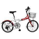 2013モデル DUCATI(ドゥカティ) 自転車本体/折りたたみ自転車 20 x 1.5インチ RED 6段変速 SDFK-206