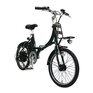 2013モデル DUCATI(ドゥカティ) 自転車本体/電動自転車 20インチ GREEN SDM-206E2