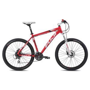 2014年モデル FUJI(フジ) NEVADA 1.7D 15インチ A2-SLアルミフレーム 24speed Red 26 x 2.1 マウンテンバイク