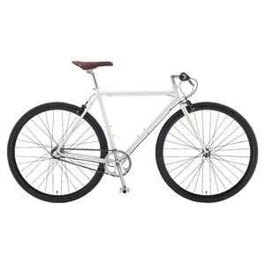 2014年モデル FUJI(フジ) STROLL 43cm クロモリフレーム 内装3段変速 Silky White 700cx28mm クロスバイク