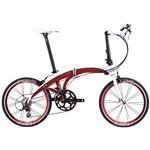 2014モデル DAHON(ダホン) Mu Elite 20インチ 20speed レーシーレッド 折りたたみ自転車