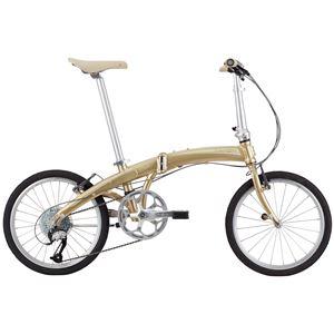 2014モデル DAHON(ダホン) Mu P9 20インチ 9speed シャンパンゴールド 折りたたみ自転車