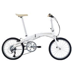 2014モデル DAHON(ダホン) Mu P9 20インチ 9speed クラウドホワイト 折りたたみ自転車