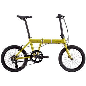 2014モデル DAHON(ダホン) Horize 20インチ 8speed アシッドグリーン 折りたたみ自転車