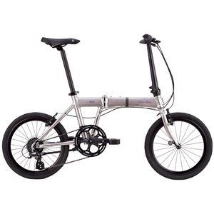 2014モデル DAHON(ダホン) Horize 20インチ 8speed スモーキーシルバー 折りたたみ自転車