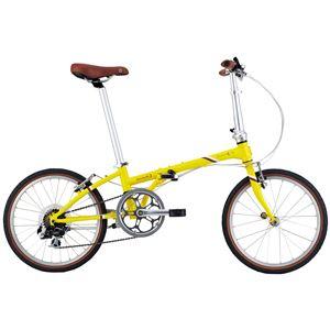2014モデル DAHON(ダホン) Boardwalk D7 20インチ 7speed マットレモン 折りたたみ自転車