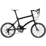 2014モデル DAHON(ダホン) Dash X20 20インチ 20speed マットブラック Lサイズ 折りたたみ自転車