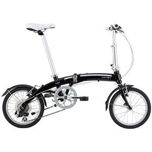 2014モデル DAHON(ダホン) Curve D7 16インチ 7speed オブシディアンブラック 折りたたみ自転車