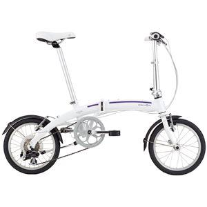 2014モデル DAHON(ダホン) Curve D7 16インチ 7speed クラウドホワイト 折りたたみ自転車