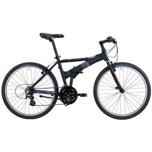 2014モデル DAHON(ダホン) Espresso 26インチ 21speed マットブラック Mサイズ 折りたたみ自転車